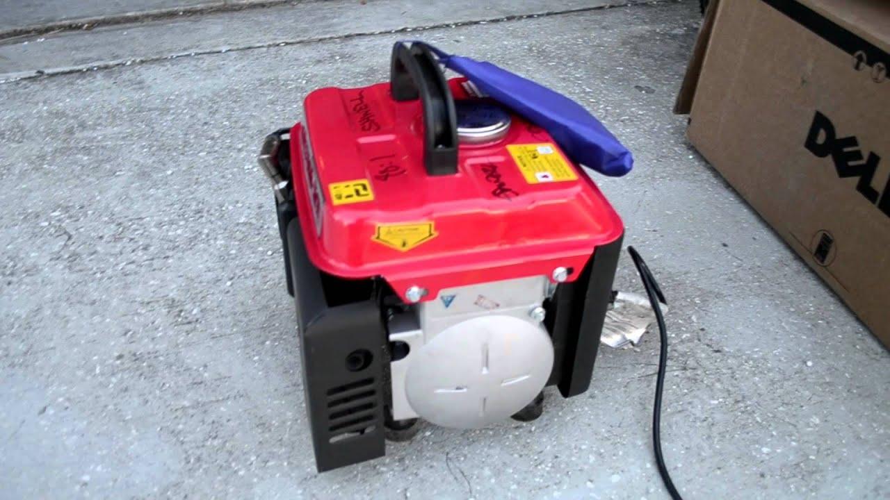 Small 2 Stroke Generator 800 1000W