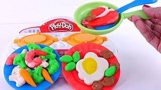 play doh kitchen creations sizzlin stove top playdough food new 2017 toys
