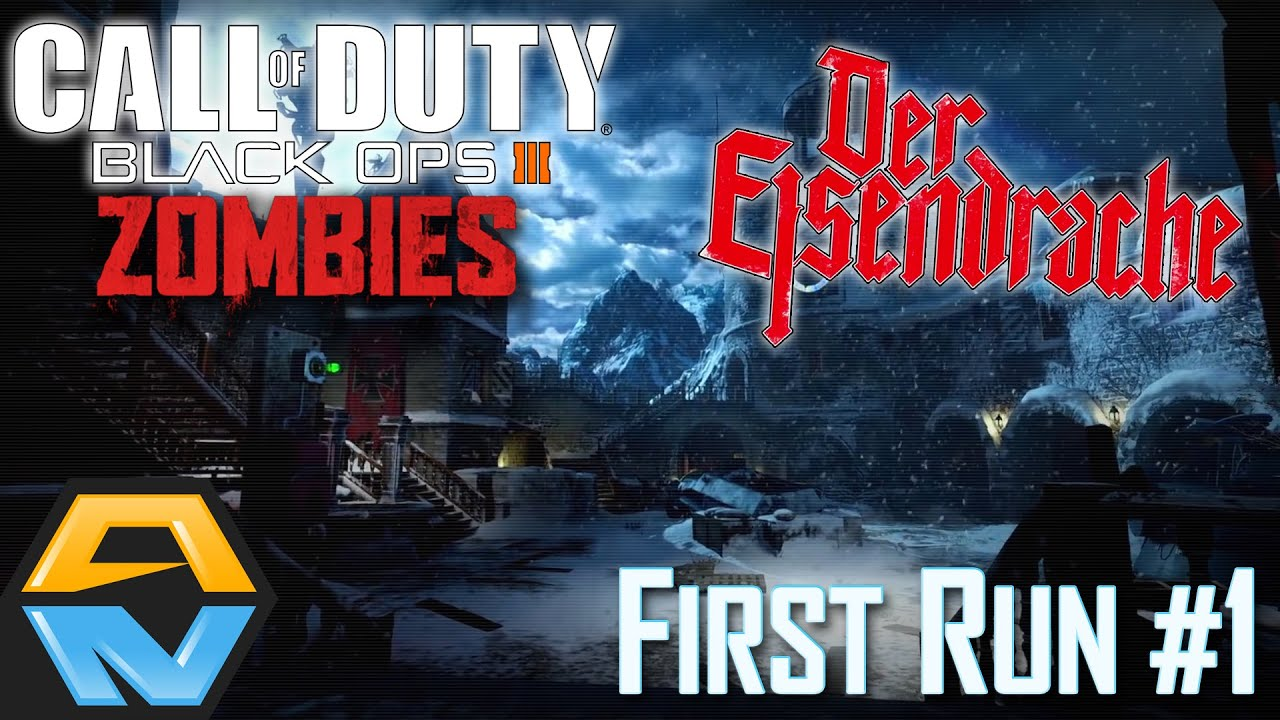 Der Eisendrache First Run 1 Call Of Duty Black Ops Iii Zombies