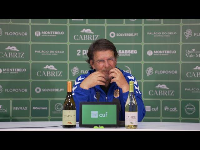 Manuel Machado após jogo em Tondela: