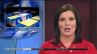 Classes canceled Wednesday for K - 3rd students at Vanguard School