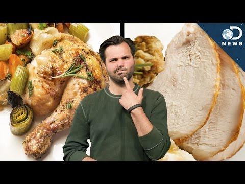 The Science Of Dark Vs. White Meat