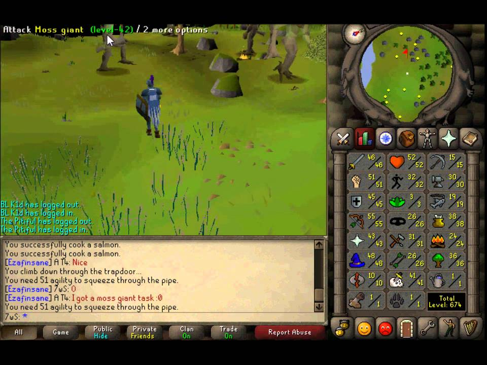 Moss Giants Osrs