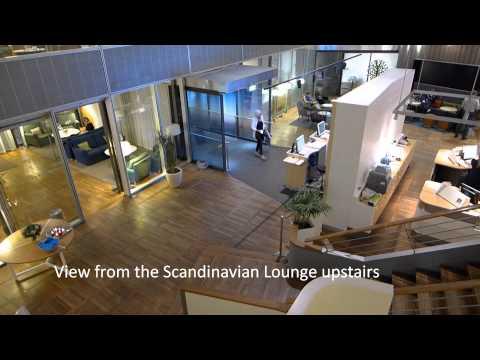 SAS Lounge Copenhagen Airport (Oktober 2014)
