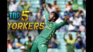 Perfect Yorkers From Muhammad Amir - Top 5 - Cricket We Love You