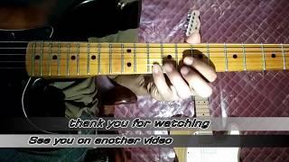 namanya juga netral (NTRL) guitar solo tutorial