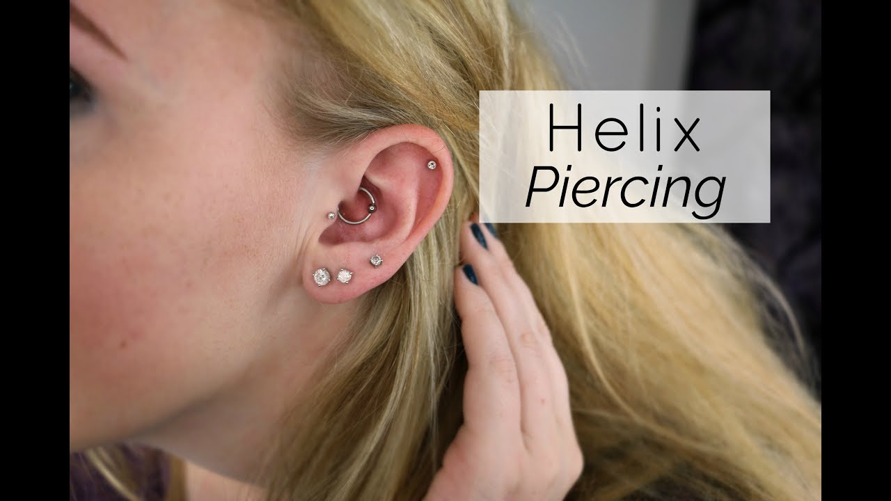 All About My Helix Piercing Youtube