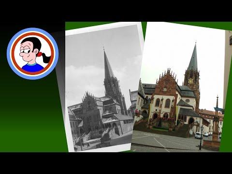 Aschaffenburg then and now