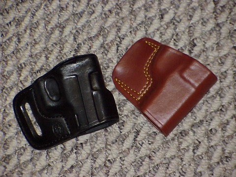 Gould & Goodrich Vs  El Paso Saddlery CCW Holster
