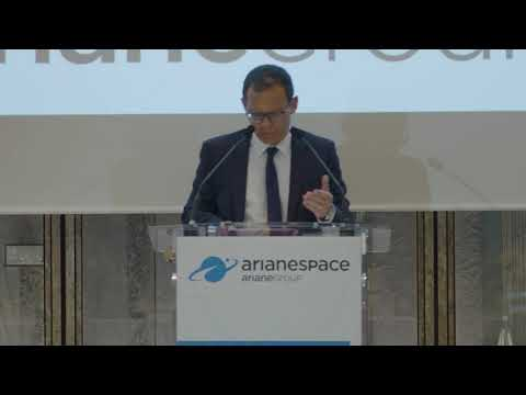 Key messages from Arianespace CEO's press conference on January 7, 2020 (1/4)