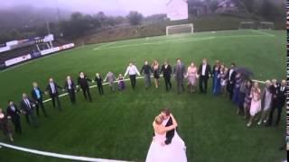 Brudevalsen Susanne og Kenneth Tiller