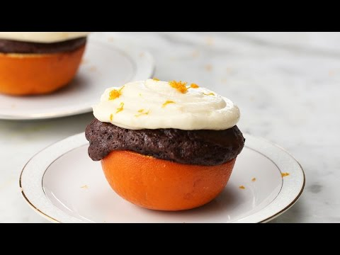 Orange Chocolate Cupcake