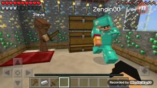 Minecraft PE 2Fakir 1Zengin DUYGUSAL