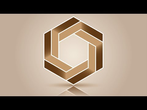 Best logo design | Polygon | 3D logo design | Adobe illustrator tutorials | 003 thumbnail