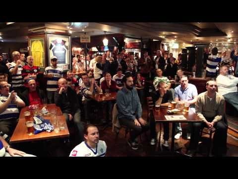 QPR Fans in Melbourne Playoff Final 2014