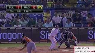 Highlights Jornada 11/12 LVBP. Águilas del Zulia vs Navegantes del Magallanes