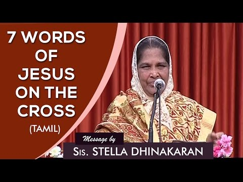 good friday seven words in tamil