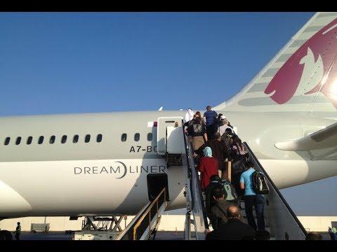 [NEW 2018] Qatar Airways |  Dreamliner Review (HD)