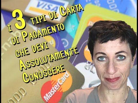 Qual'è la differenza tra Carta di Credito e Carta di Debito?
