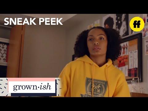 grown-ish | season 1, episode 1 sneak peek: midnight class | freeform