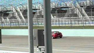 Race Civic Si on front straight  @ NASA HPDE Race Event Thumbnail