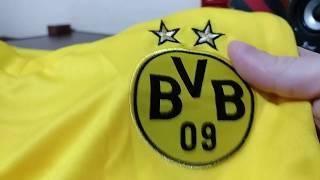 Unboxing Camisa Borussia Home 18 19 (DHGATE) ... 25dcb2c90