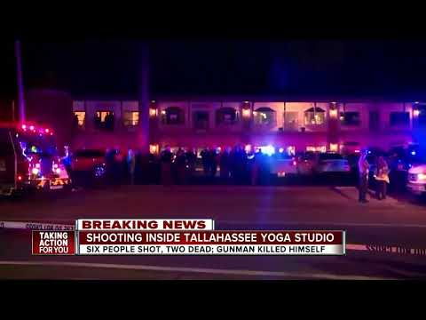 2 victims dead after gunman opens fire at Tallahassee yoga studio shooting 6, before killing himself