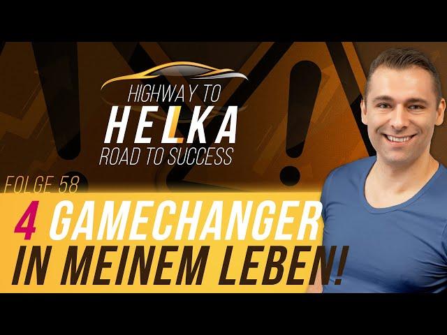 4 Gamechanger meines Lebens! So veränderte ich mein Leben positiv! MUST See für Jungunternehmer!