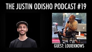 The Justin Odisho Podcast #19: Music Video Director LOUIEKNOWS Interview
