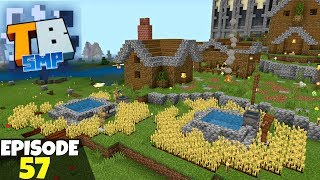 Truly Bedrock Episode 57! Planning A Village City! Minecraft Bedrock Survival Let's Play!