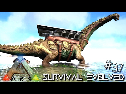 ARK: SURVIVAL EVOLVED - TAMING A TITANOSAUR !!! E37 (MODDED ARK ANNUNAKI EXTINCTION CORE)