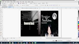 Video Tutorial How to Make Cover Book using Coreldraw X7