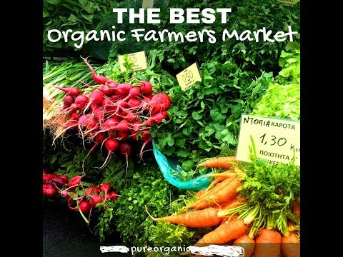 Pure Organic Vegetables Markets | The Best Organic Farmers Market | Pure Organic World
