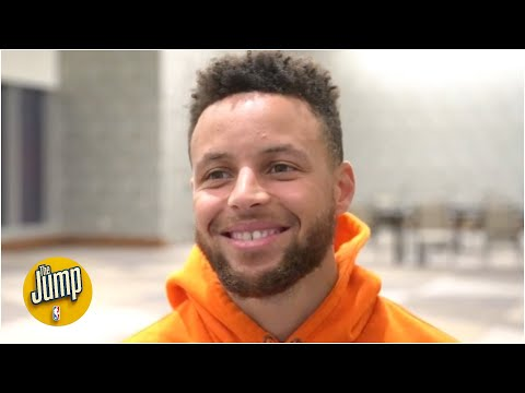 Steph Curry has no doubts he wants to finish his career as a Warrior | The Jump