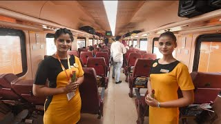 Tejas Express   India's first Private Train   Tejas Vlog