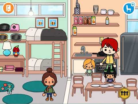 The unwanted child part1 / Toca life world
