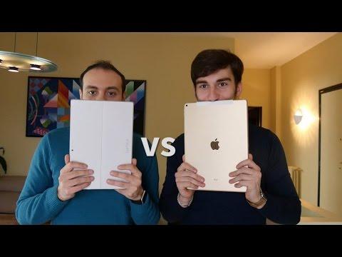 iPad Pro vs Surface Pro 3: il confronto dettagliato