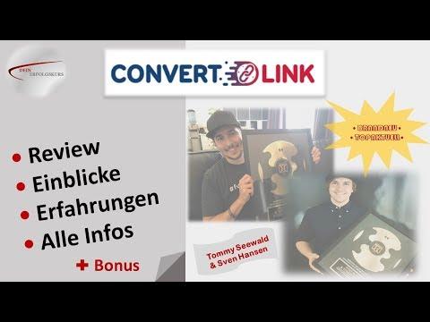 CONVERTLINK ➤ Was bringt dir diese Software wirklich? ➤ Alle Infos ➤ Inhalt & Erfahrungen ➤ Bonus