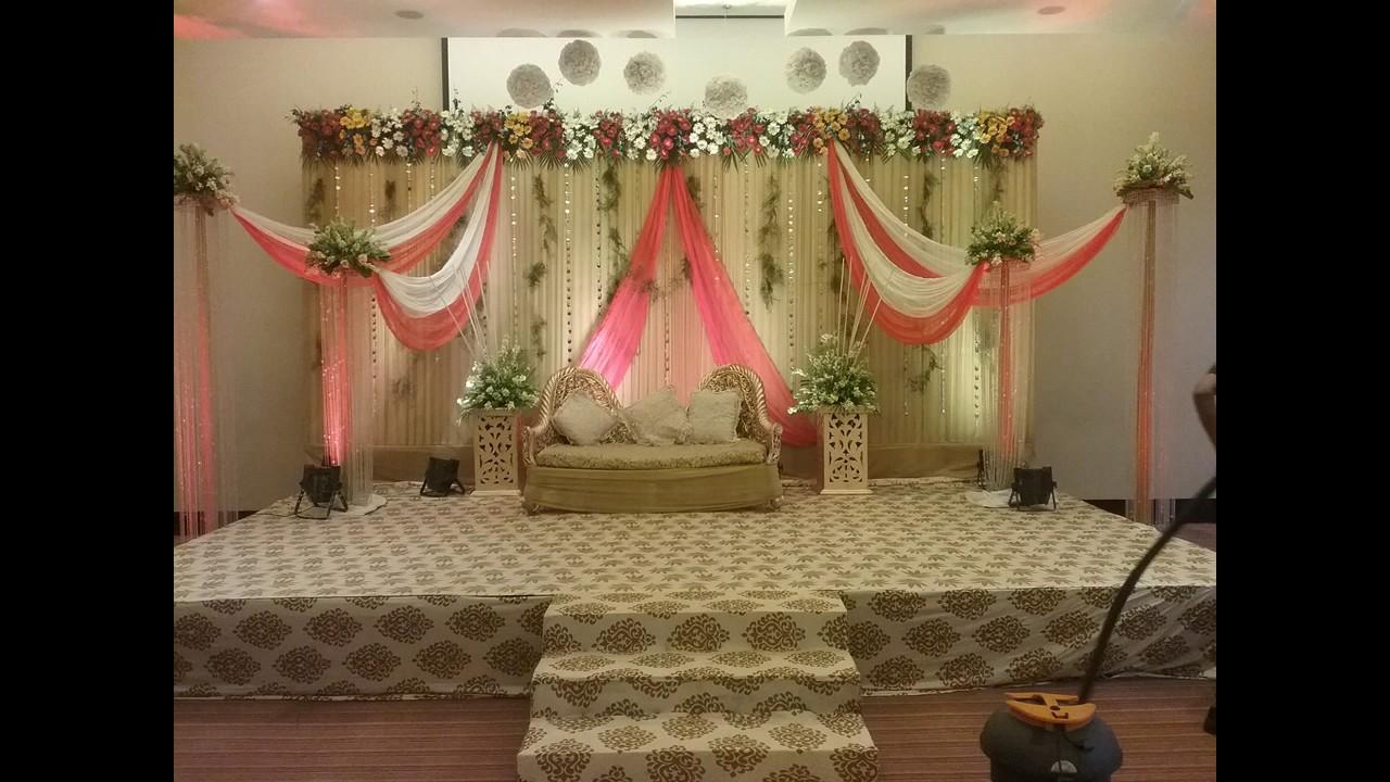 Flower Decoration For Ring Ceremony In Hyatt Place Gurgaon