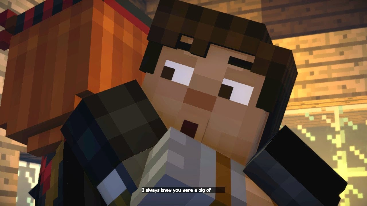 Petra And Jesse Relationship Confirmed Jetra Minecraft Story Mode Season 2 Episode 4 P4