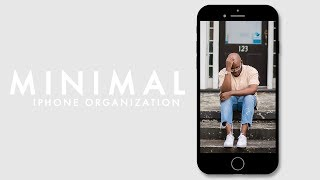 how to organize your iphone | minimalist edition | bryant devon