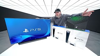 LG Display OLED + PS5 + Xbox Series X Giveaway!