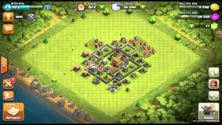 TH 5 Attacks On TH7 CLASH OF CLANS LIVE WAR ATTACK MUST WATCH!!