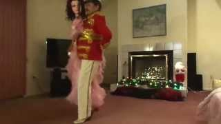 Best Waltz Dance Steps with Music and Partner Half Man Half Woman - Tutorial
