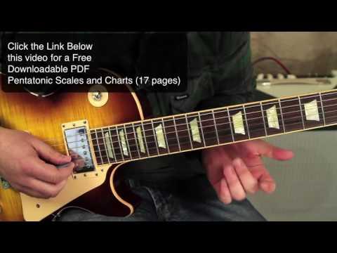 Habits of Slash (3 Crucial Pentatonic licks) that  blow open the Doors to ROCK)