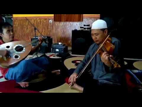 Gambus Klasik - Gitar Gambus Abi Ghoffar Biola Ra Hamim