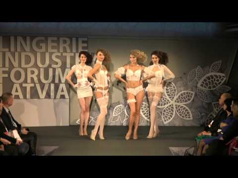 Gracija-Rim- lingerie industry forum in Latvia 26.11.2015 (показ белья)