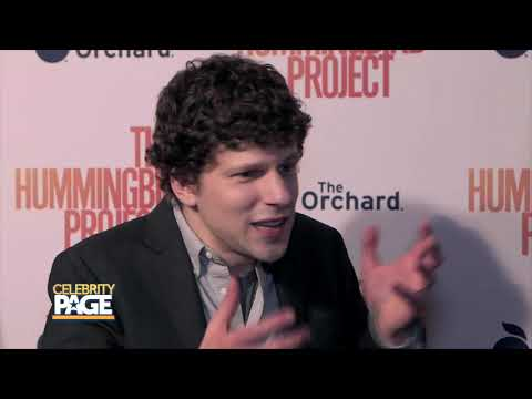 """Jessie Eisenberg on His Latest Project """"The Hummingbird Project"""" 