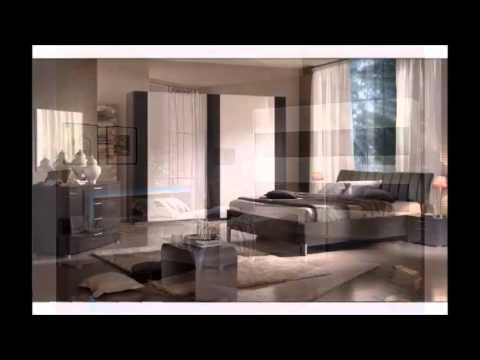 chamber coucher noir et blanc youtube. Black Bedroom Furniture Sets. Home Design Ideas
