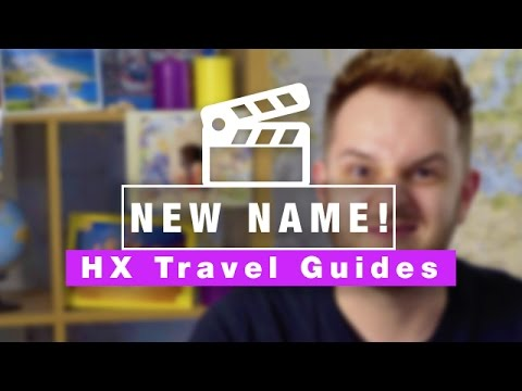 We're changing our name! Presenting... Holiday Extras Travel Guides :D
